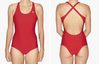 OY Surf Apparel Swimsuit Kaja redcoat