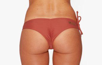 Surf Bikini Bottom | Brasil - maroon (back)