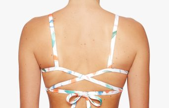 Surf Bikini Top | Faya - liberty (back)