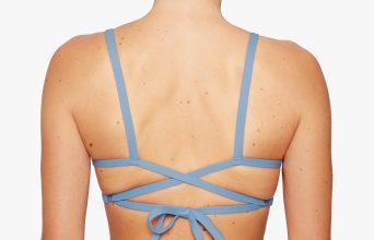 Surf Bikini Top | Faya - misty (back)