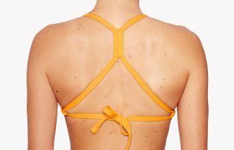 Surf Bikini Top | Milli - horizon (back with fixed cross)