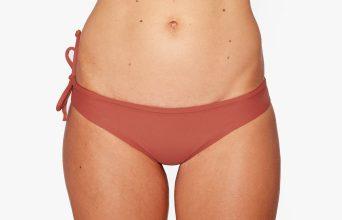 Surf Bikini Bottom | Brasil - maroon (front)