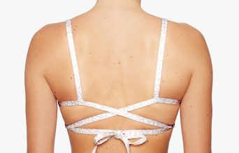 Surf Bikini Top | Faya - breeze (back)