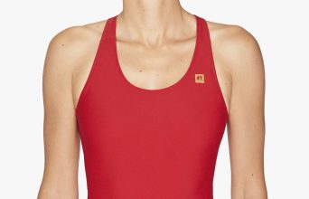 OY Surf Apparel Swimsuit Kaja redcoat